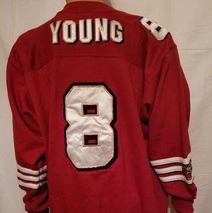 STARTER Sweaters - Rare Vintage starter steve young 49ers Sweatshirt